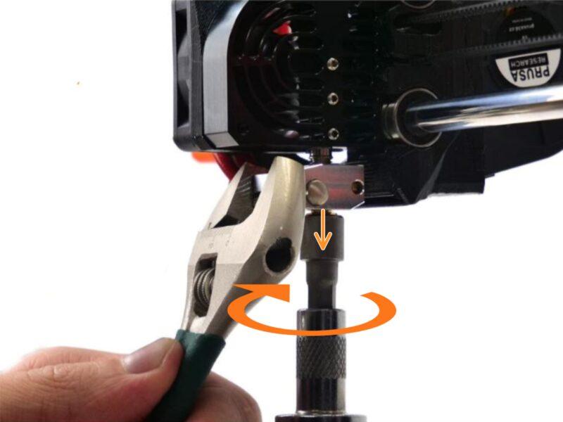 nozzle değiştirme