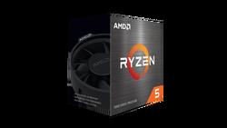 AMD - AMD RYZEN 5 5600X 4.6GHz 6C / 12T AM4 Soket 32MB Önbellek