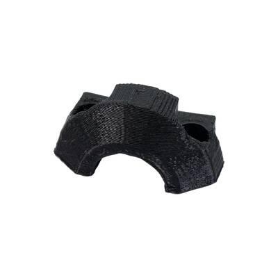EXTRUDER CABLE CLIP BLACK MK3