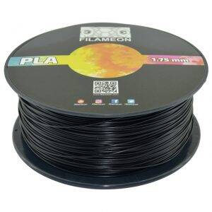 FILAMEON PLA Filament Siyah Renk