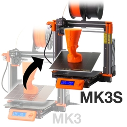 Prusa Research - Original Prusa i3 MK3 to MK3S upgrade kit