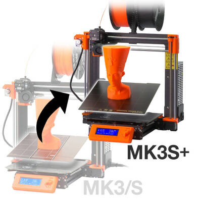 Original Prusa i3 MK3/S to MK3S+ upgrade kit