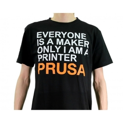 Prusa Research - Original Prusa T-shirt - Classic One-sided Edition