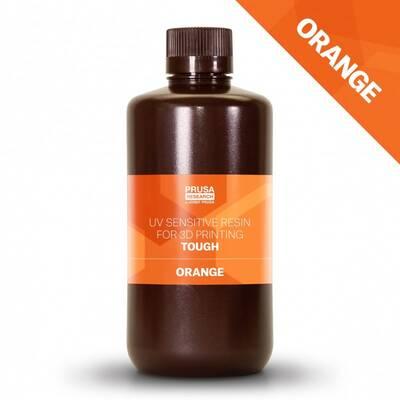 Prusa Orange Tough Resin 1Kg