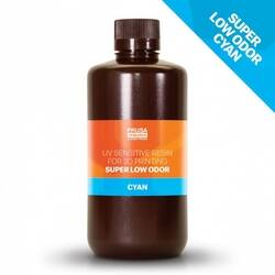 Prusa Super Low Odor Cyan Tough Resin 1Kg