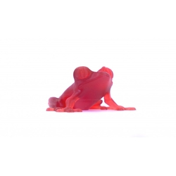 Prusa Transparent Red Tough Resin 1Kg - Thumbnail