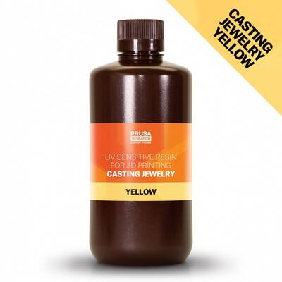 Prusa Yellow Jewelry Casting Resin 1Kg