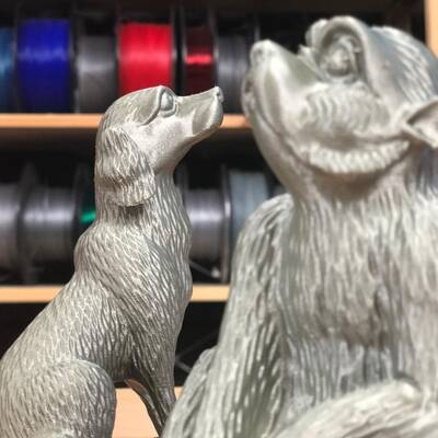 Prusament PLA Pearl Mouse