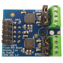 PT100 daughterboard for Duet Wifi - Thumbnail